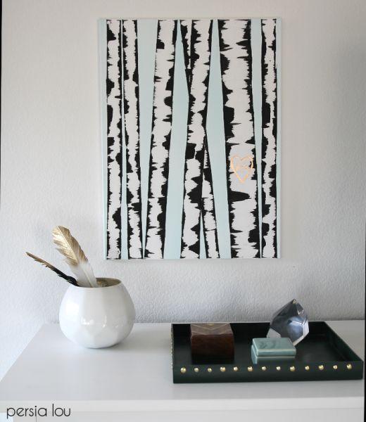 Invista em pintura em tela para decoração de seus espaços (Foto: persialou.com)