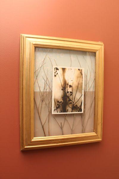 É também muito barato fazer este quadro caixa decorativo (Foto: 365days2simplicity.blogspot.com.br)