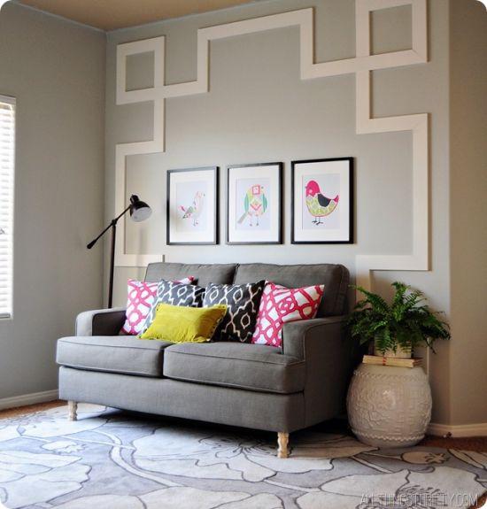 Decora o e projetos como decorar paredes com mdf sem for Decorar paredes facil