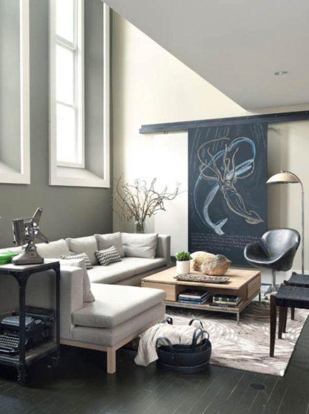 Decora o e projetos 15 ideias de paredes decoradas com giz - Paredes decoradas modernas ...
