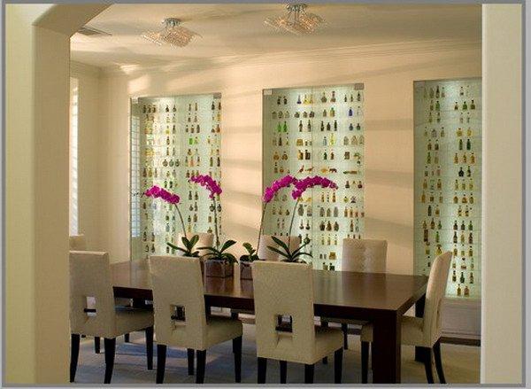 Há muitas opções de salas de jantar modernas decoradas (Foto: hative.com)
