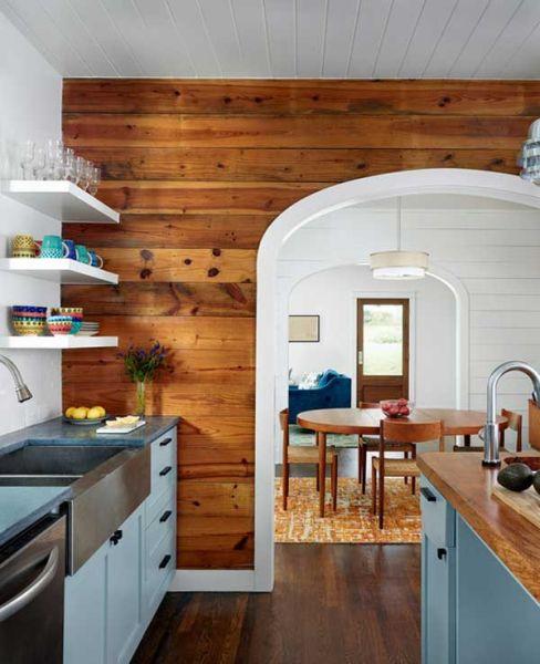 Há muitas opções para decorar paredes de cozinhas (Foto: homesthetics.net)