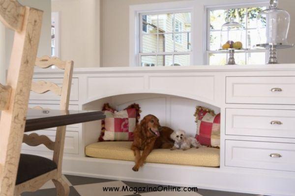 Decoração de ambientes com cachorro é fofa e acolhedora (Foto: amazingonlinemagazine.com)