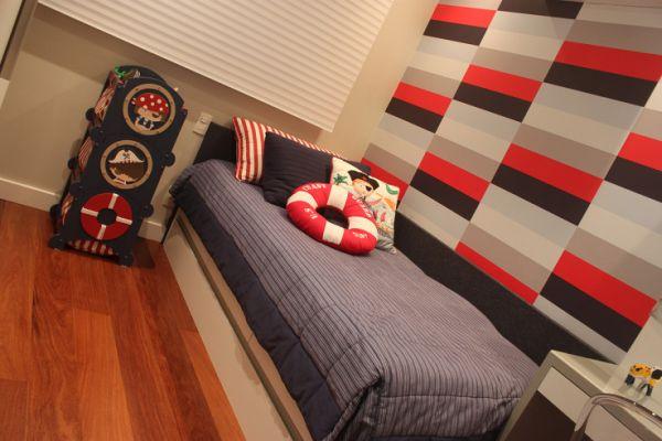 Decorar quarto infantil pequeno é fácil se você optar por itens corretos (Foto: casa.abril.com.br)