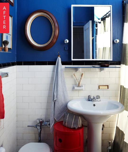 decoracao banheiro apartamento alugado:Nautical Bathroom