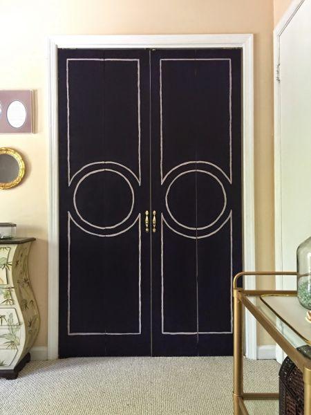 Reformar as portas de um armário antigo é muito fácil (Foto: domicile37.com)