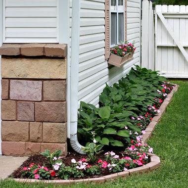 Decora o e projetos antes e depois decora o para for Fotos jardines pequenos para casas