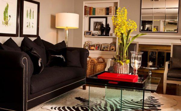 Orquídeas na decoração decora, repagina o ambiente e ainda traz a natureza para mais perto de sua casa (Foto: homedit.com)