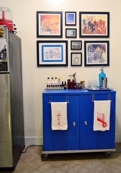 decorar banheiro velho:Decorar um gabinete velho é fácil e você pode imprimir o seu estilo