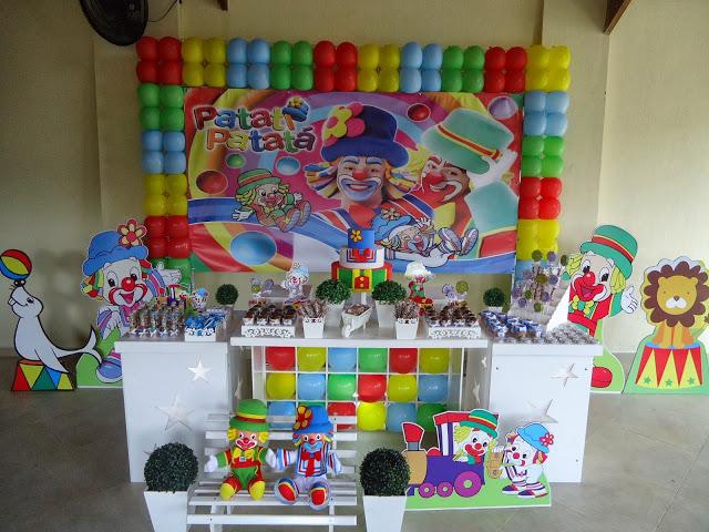 decoracao festa simples: 20 ideias para decoração de festa infantil Patati Patatá simples