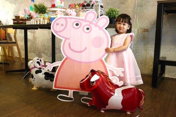 Decoração de Festa Infantil Peppa Pig Simples    8