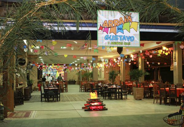 Decoração de festa junina para aniversário infantil é divertida e agrada a todos (Foto: bebe.abril.com.br)
