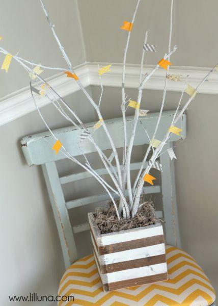 A decoração para hall de entrada é divertida e pode ter o estilo que você quiser (Foto: lilluna.com)