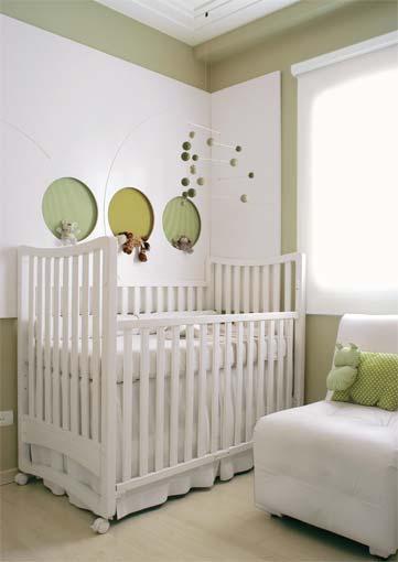 Decoração e Projetos Decoração de Quarto de Bebê Simples e Barato