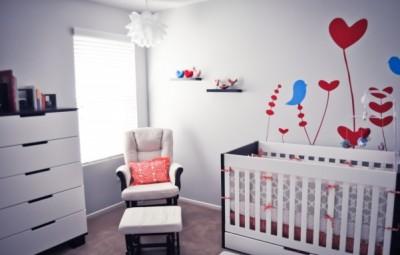 A decoração de quarto de bebê simples e barato pode ser mais interessante do que você imagina (Foto: quartodebebe.net)