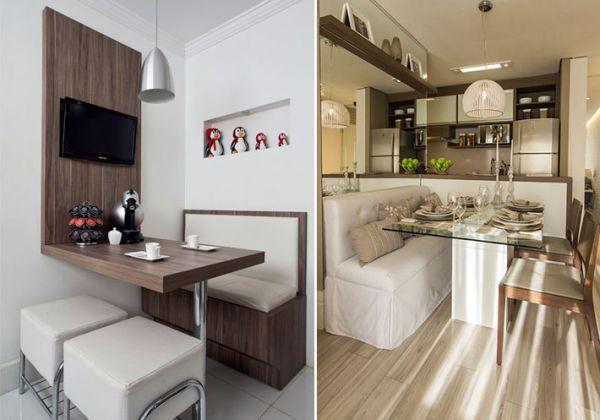 Banco Dois Lugares Sala De Jantar ~  Projetos – Decoração de Sala de Jantar com Canto Alemão