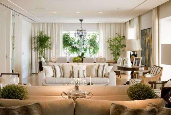 Há muitas e lindas ideias para decoração de casas com plantas naturais, escolha a sua ideia preferida (Foto: vidaeestilo.terra.com.br)