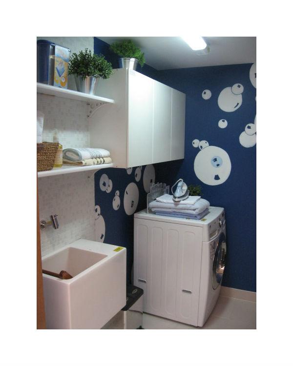 Projetos – Decoração de lavanderia de apartamento pequeno