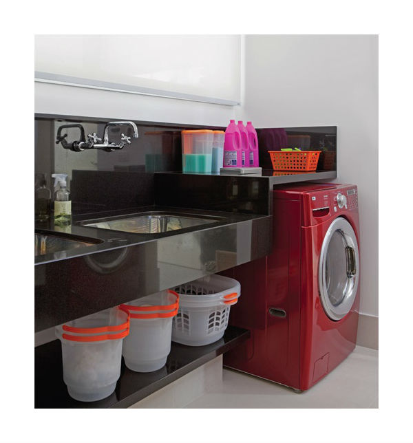 Well-known Decoração de lavanderia de apartamento pequeno LW27