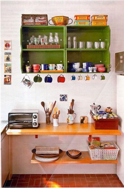 Decorar uma cozinha com pouco dinheiro não é muito difícil (Foto: casacomdecoracao.blogspot.com.br)