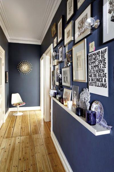 Decoração de corredor estreito e pequeno para apartamento pode ser bem interessante (Foto: casadeamados.com)