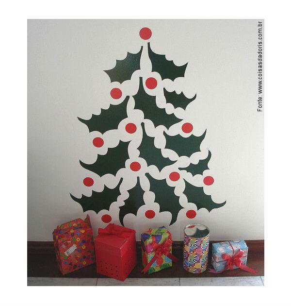 Decoraç u00e3o e Projetos Decoraç u00e3o de Natal na Escola 2015 Dicas, Fotos -> Decoração De Natal Simples Escola