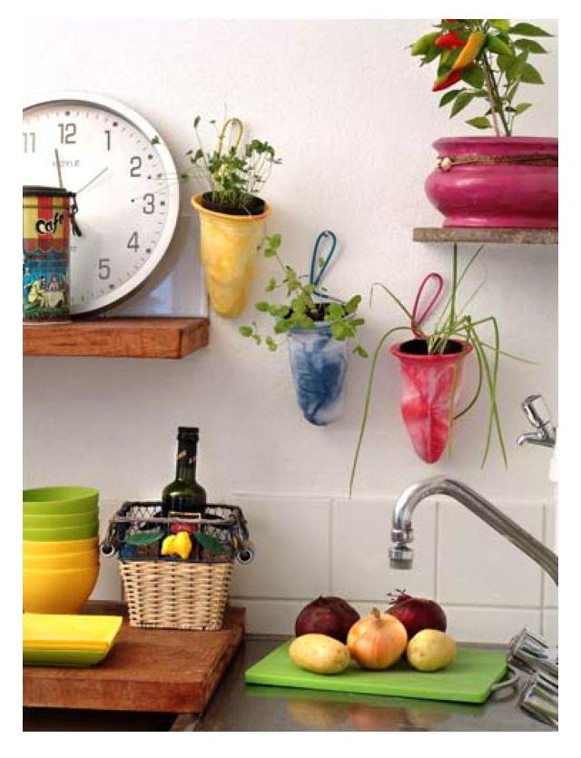 Como decorar uma cozinha com reciclagem - Como reciclar para decorar ...
