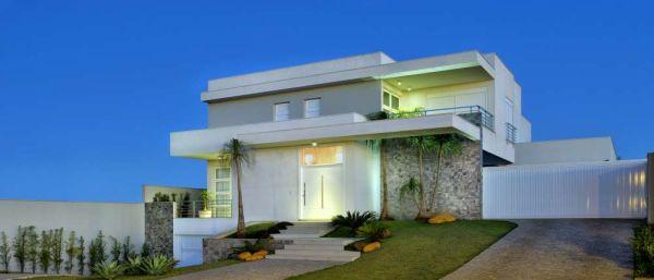 Decora o e projetos decora o de fachadas de casas com for Renovar fachadas de casas