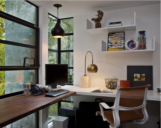 A decoração para cantinhos de estudo e leitura deve ter o estilo dos moradores (Foto: asarquitetasonline.com.br)