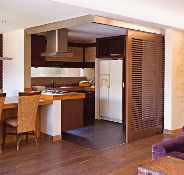 Decora o e projetos divis rias de ambientes residenciais for Casas reducidas