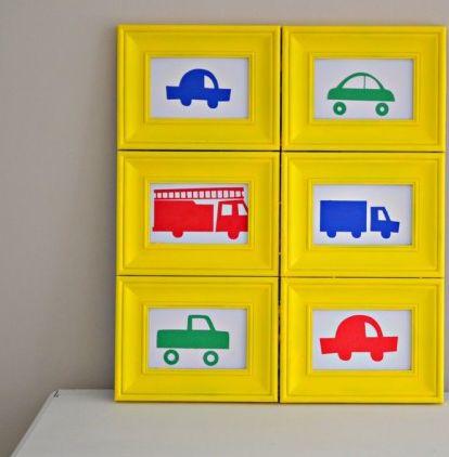 Esta ideia criativa para decorar parede de quarto infantil pode ter o estilo que você desejar (Foto: littlemissmomma.com)