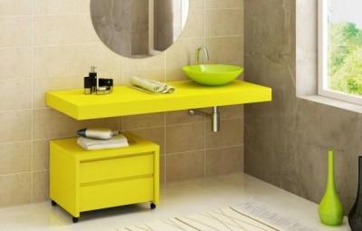 Não faltam ideias de armários modernos para banheiros (Foto: irmaseamigas.com.br)