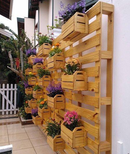 ideias baratas para jardim vertical : ideias baratas para jardim vertical: Projetos – Jardim Vertical para Área Externa – Dicas, Ideias