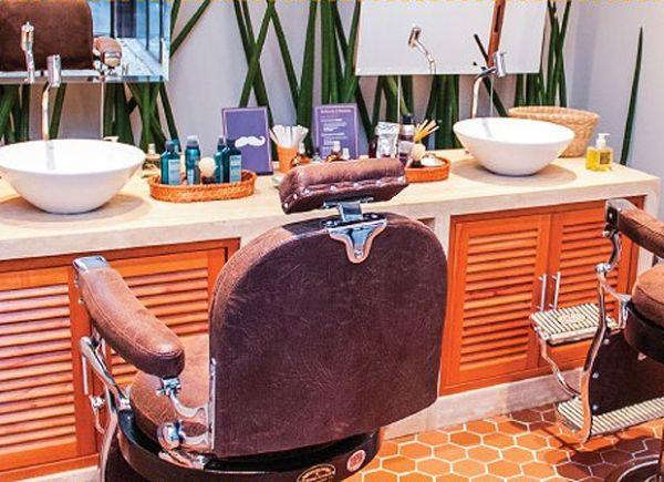 Decorar uma barbearia de sucesso pode também ser bem divertido (Foto: chic.uol.com.br)