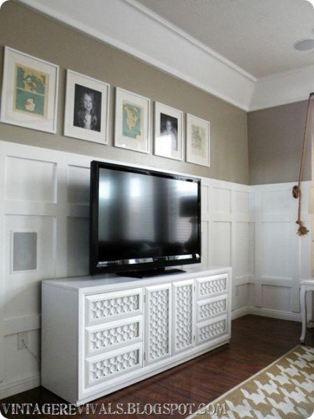 Decoração de móveis com cano de PVC repagina o ambiente de forma instantânea (Foto: vintagerevivals.com)