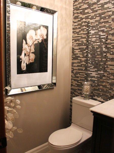Decoração e Projetos Decoração de Banheiro Pequeno com Pastilhas -> Banheiro Pequeno Spa