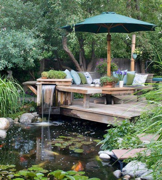 ideias de jardim japones:Decoração e Projetos – Ideias de Decoração de Jardim Japonês