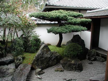 Decora??o e Projetos Ideias de Decora??o de Jardim Japon?s