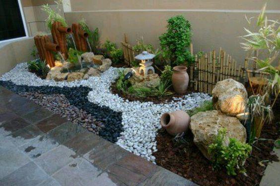 ideias jardim de inverno : ideias jardim de inverno: Projetos – 10 Ideias de Decoração de Jardim de Inverno com Pedras