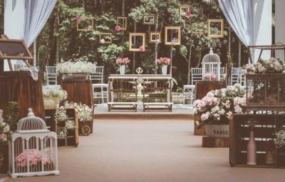 Decoração de casamento rústico pode ser fascinante (Foto: pinterest.com)