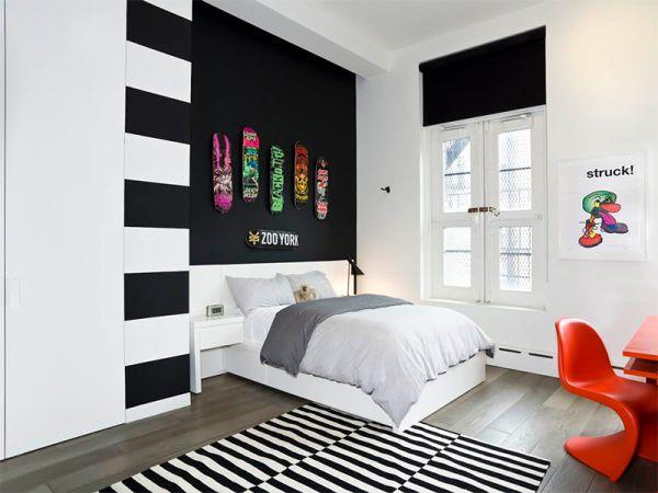 Há muitas ideias de quartos de adolescentes decorados de forma primorosa (Foto: limaonagua.com.br)