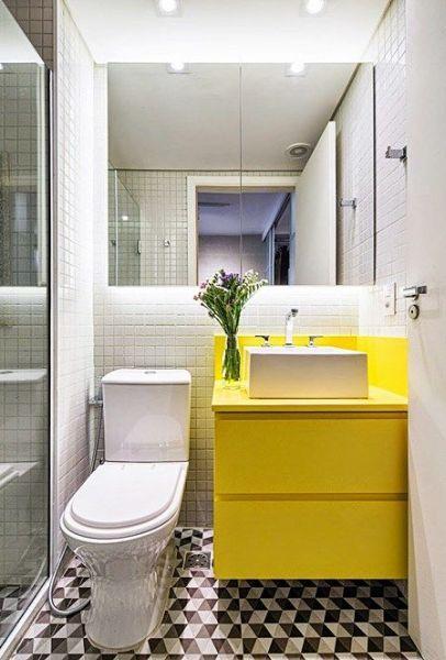 Decoração e Projetos Decoração de Banheiro Pequeno de Apartamento -> Armario De Banheiro Para Apartamento Pequeno
