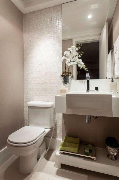 Decoração e Projetos Decoração de Banheiro Pequeno de Apartamento -> Banheiro Pequeno Zen