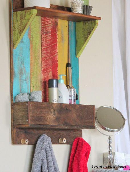 Invista já em madeira reciclada na decoração (Foto: bec4-beyondthepicketfence.blogspot.com.br)