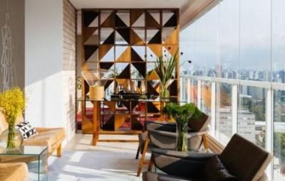 Há lindas ideias de decoração para varandas de apartamento (Foto: pinterest.com)