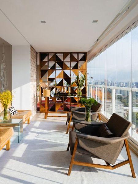 Decoraç u00e3o e Projetos 10 Ideias de Decoraç u00e3o para Varandas de Apartamento -> Decoração Para Varanda De Apartamento Simples