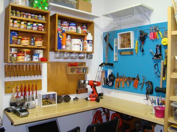 A decoração de quarto de bagunça é muito importante (Foto: pinterest.com)