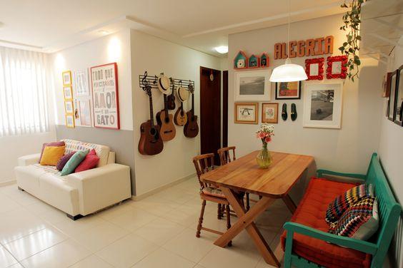 decoracao kitnet casal: Projetos – 10 Ideias de Decoração para Kitnet Masculina