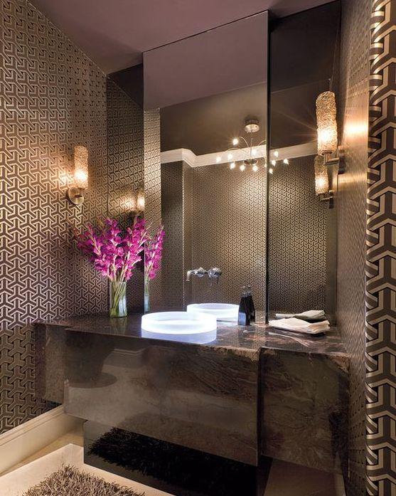 decoracao flor banheiro – Doitricom -> Banheiro Decorado Flor
