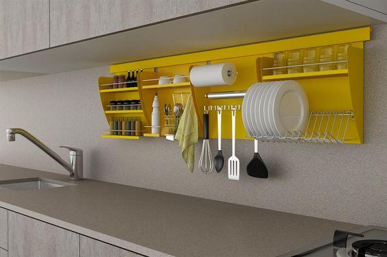Use alguma das ideias decoração de cozinha barata e simples (Foto: pinterest.com)